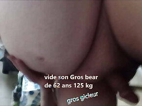 french sissy to the max old fat bear